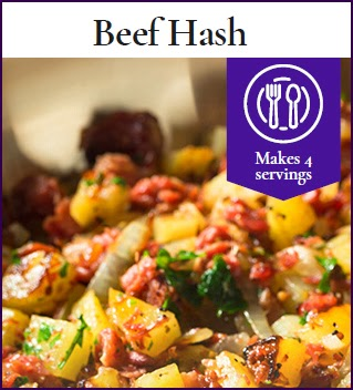 BeefHash - anti inflammation recipes