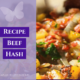 Anti Inflammation Recipes - Calm the Fires with Beef Hash